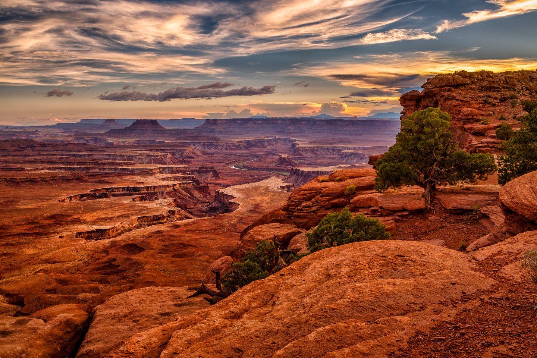 Beautiful Canyonlands National Park, outside of Moab, Utah