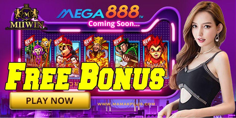 MEGA888 FREE BONUS