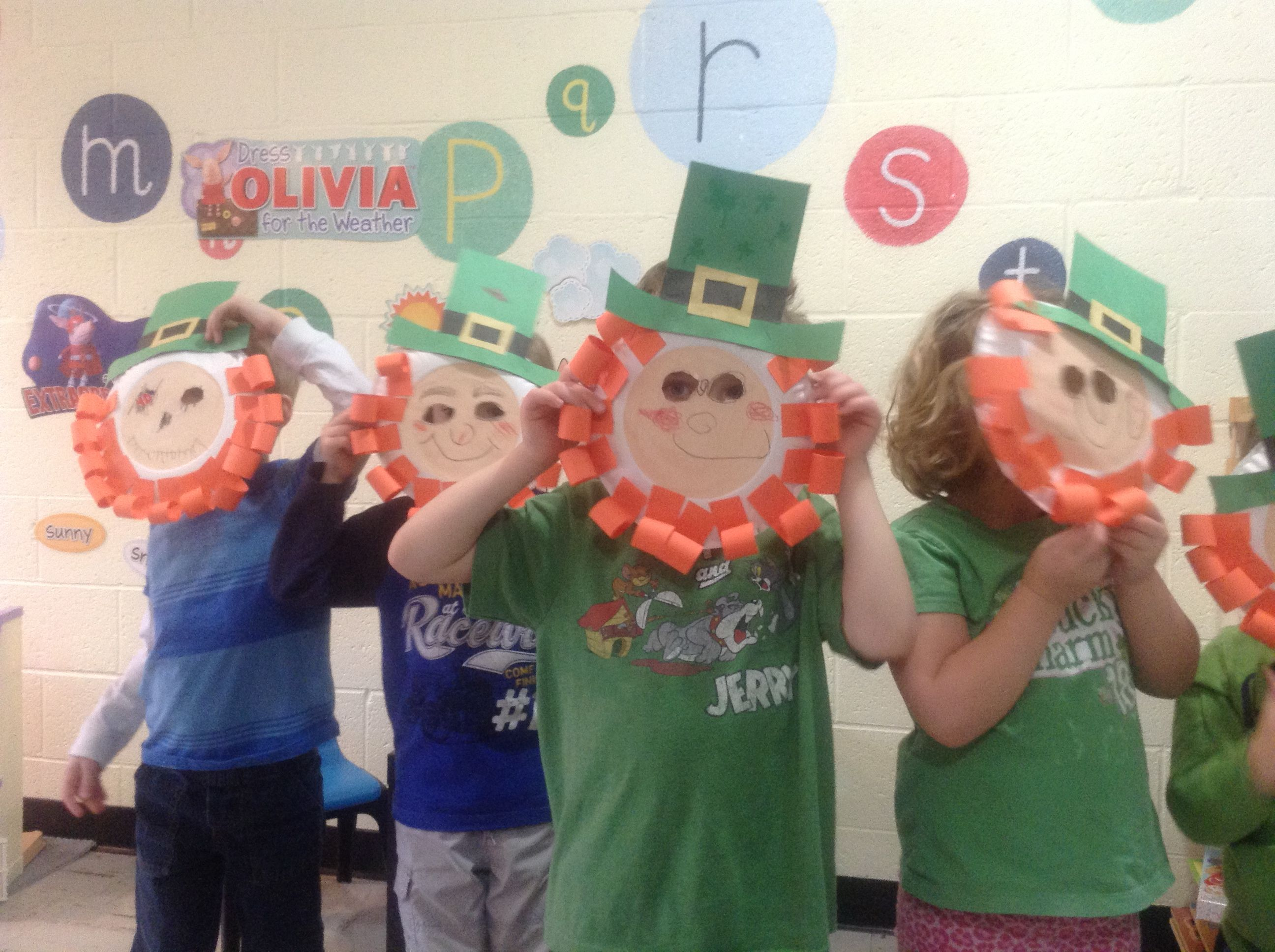 More saint patricks day fun at preschool