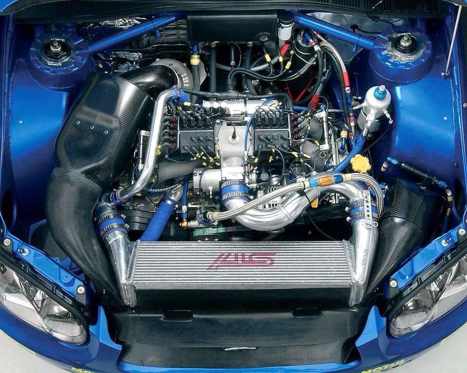 Subaru impreza sti wrc engine bay cars pinterest for Subaru cumberland valley motors