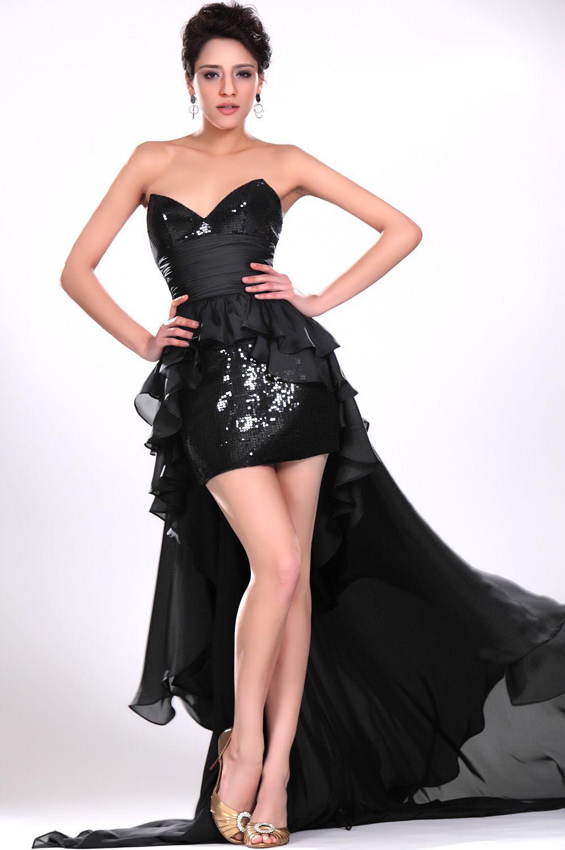 Asymmetrical Black Semi Formal Dresses Formal Dresses Pinterest