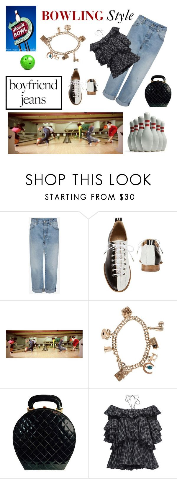 """""""Bowling Style"""" by scolab ❤ liked on Polyvore featuring rag & bone, Chanel and Tome"""