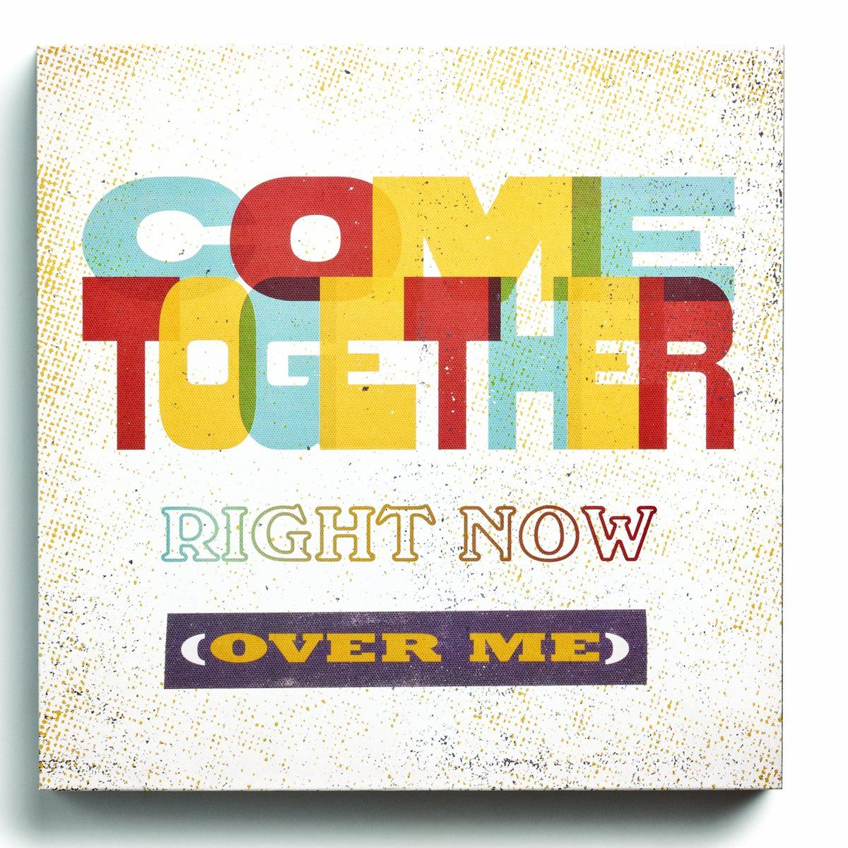 Amazon.com - Lyricology Come Together Box Decorative Sign - Beatles ...