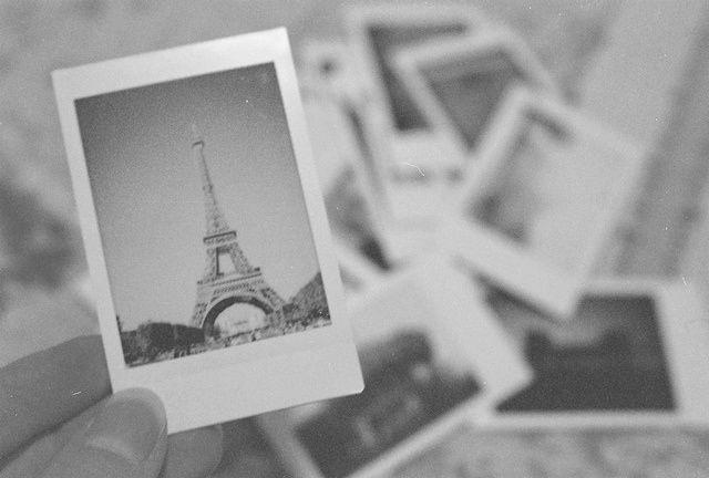 Travel Polaroids Tour Eiffel Paris Tumblr Paris