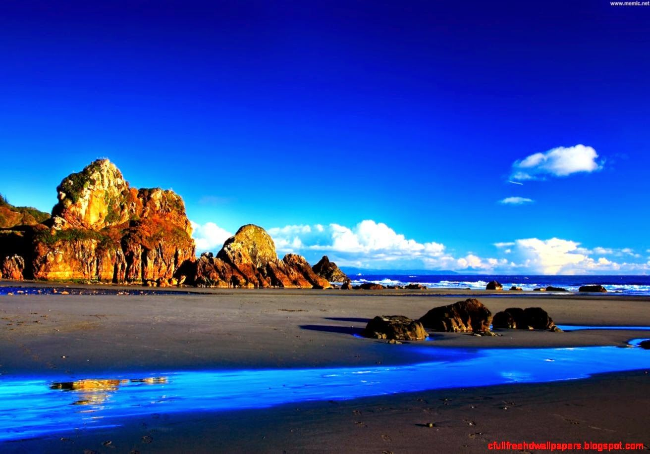 Windows 10 Full Hd Wallpaper Wallpapersafari Beautiful Landscape Wallpaper Beautiful Landscapes Beach Wallpaper