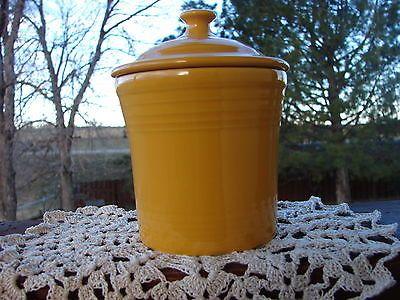 Fiesta® Dinnerware Marigold Jam Jelly Jar made by Homer Laughlin ...