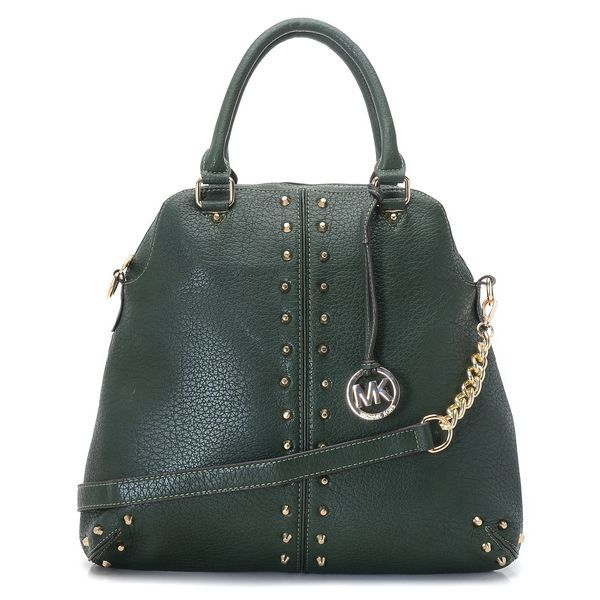 8dc206e998a1 ... Michael Kors Uptown Astor Large Satchel Green Lambskin Leather Products  Description Green washed lambskin leather.
