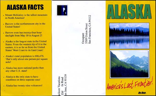 Travel Brochure Example 4 Alaska Projects To Try Pinterest