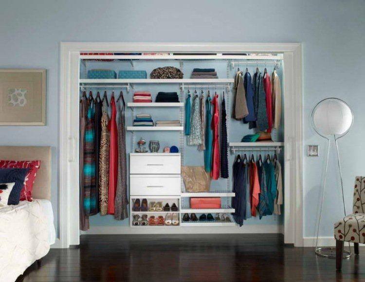 10 Solutions De Rangement Originales Pour La Garde-robe