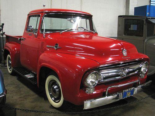candy apple red vintage trucks found myself