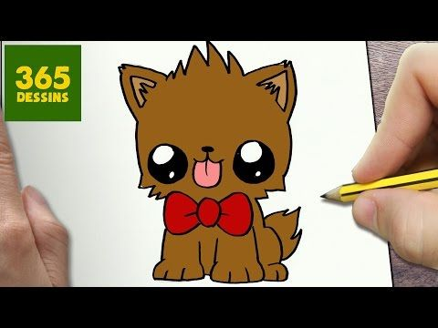 Comment dessiner fretin kawaii tape par tape dessins kawaii facile youtube projets - Dessin de petit chien ...