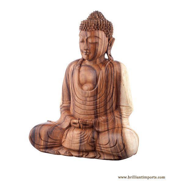 Natural Sitting Buddha~Large