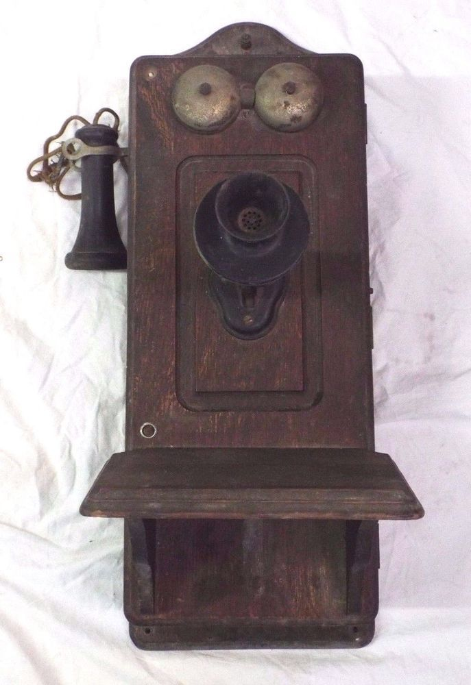 Paramount Antique Wall Reproduction Novelty Phone Antique Phone