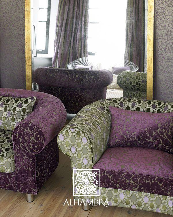 telas de tapicera alhambra villalba tapizar