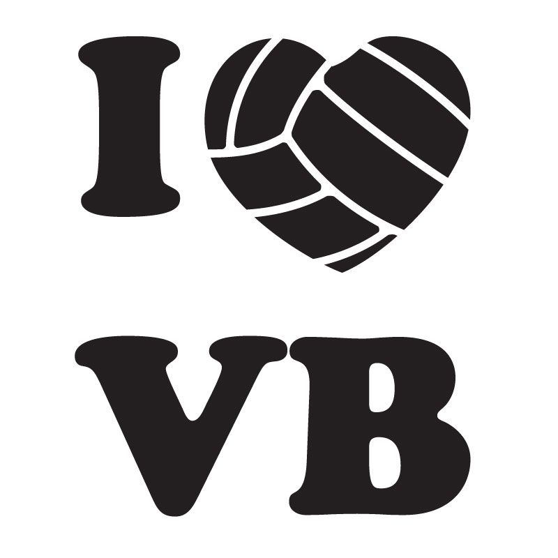 volleyball clip art volleyball market i love volleyball decal rh pinterest com Do I Know Clip Art I Don't Know Cartoon