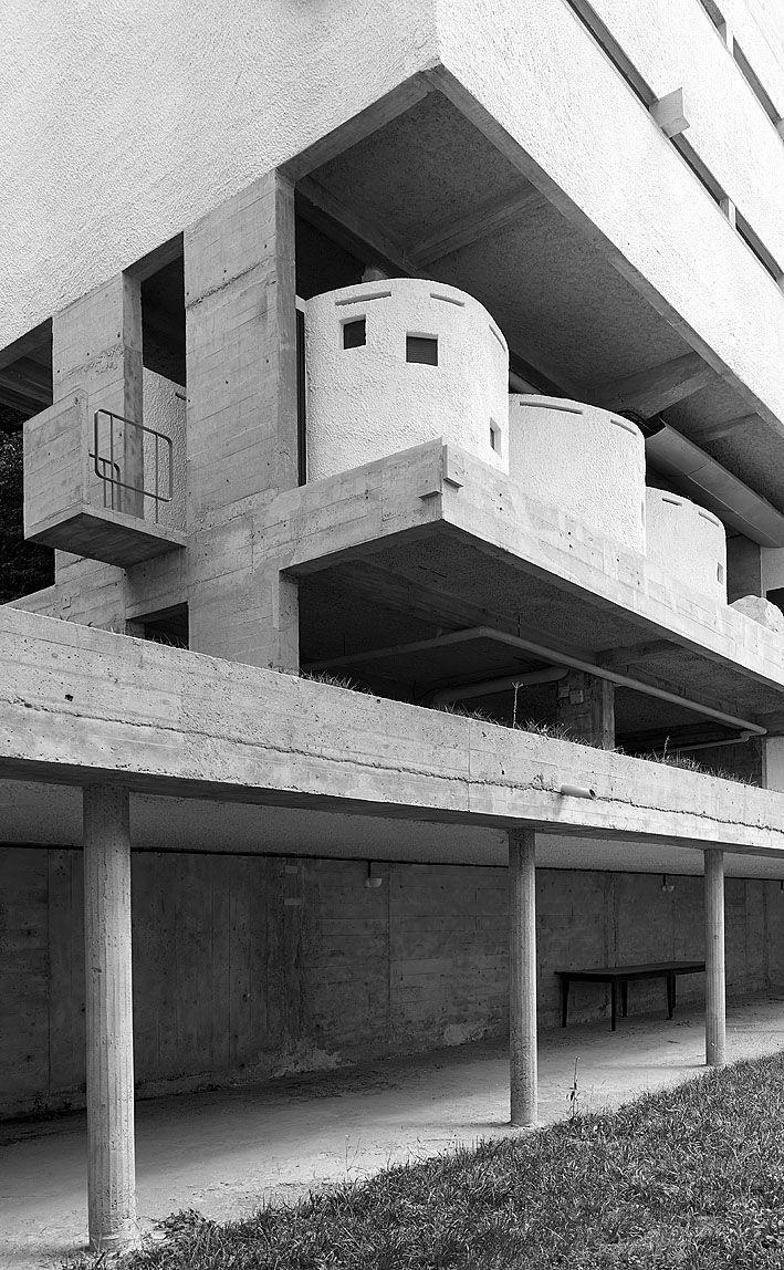 Sainte Marie de La Tourette. Lyon, France. Le Corbusier