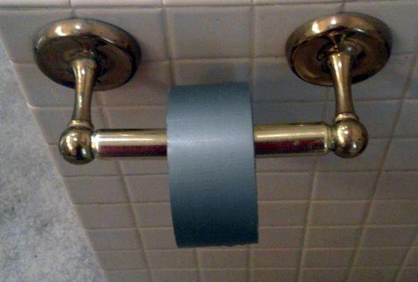 Duct Tape Toilet Paper Pranks To Pull Funny April Fools Pranks Pranks