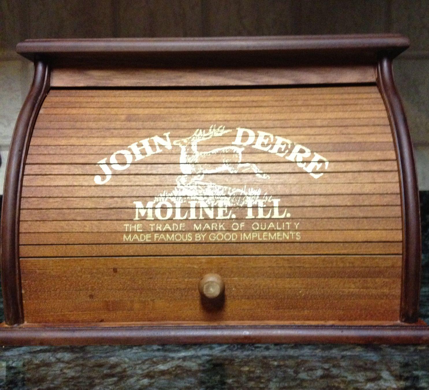 Love John Deere Bread Box Home Sweet