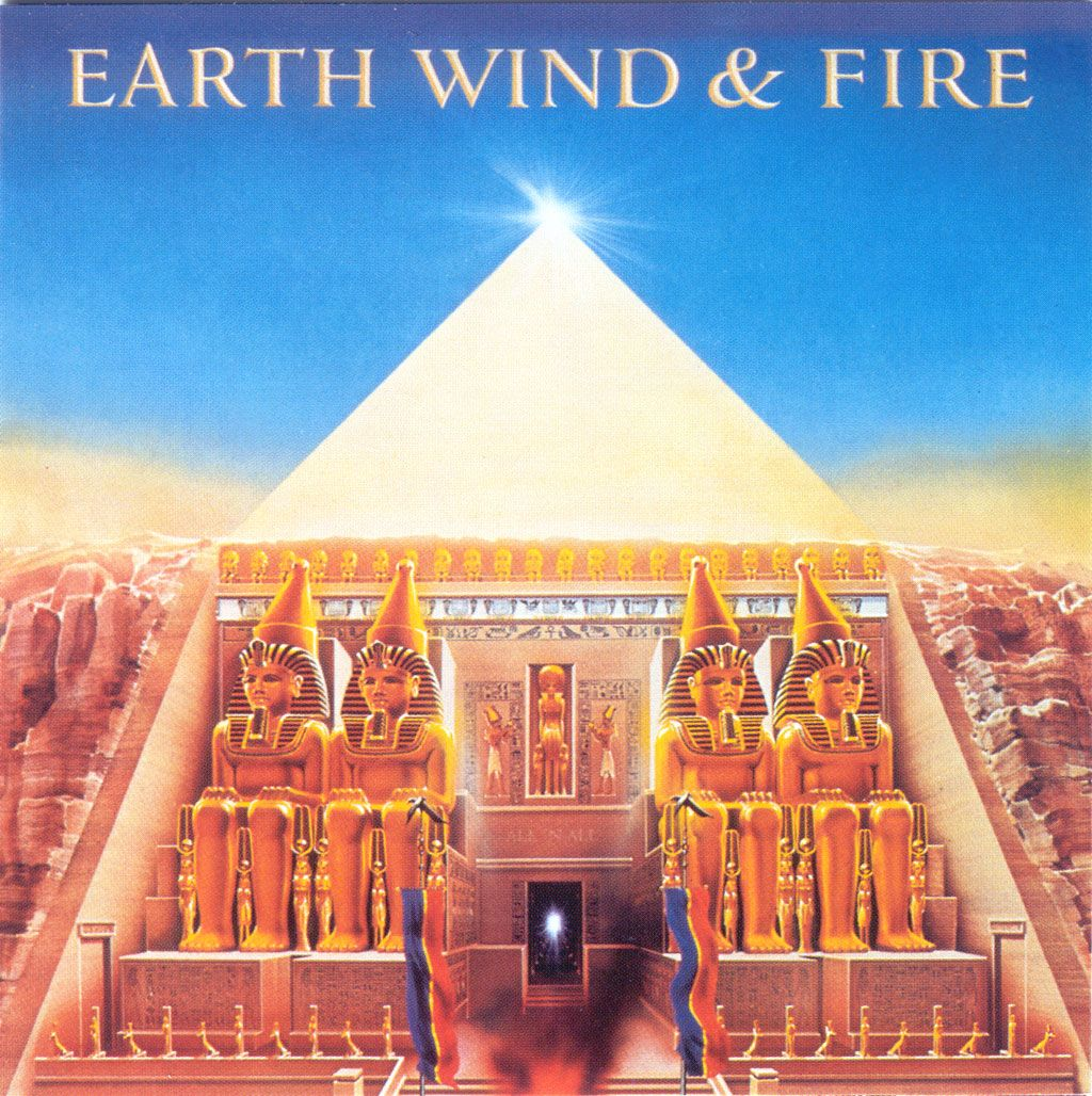 Earth Wind & Fire - All N All - CVR - 1977