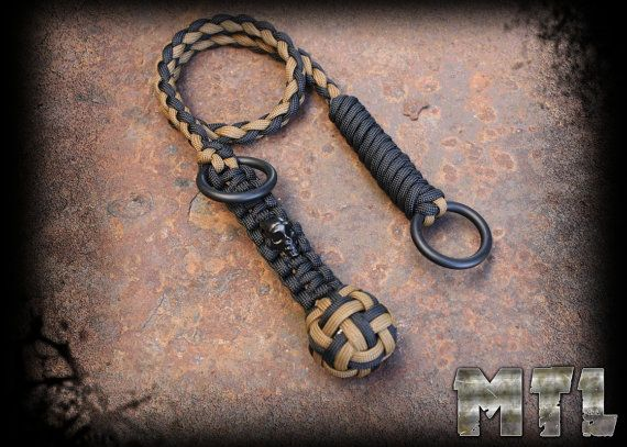 996e88cf805 Paracord Self Defense Lanyard ( known as monkey fist) featuring ...