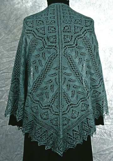 a1296bf8a6fc Free Knitted Lace Shawl Patterns