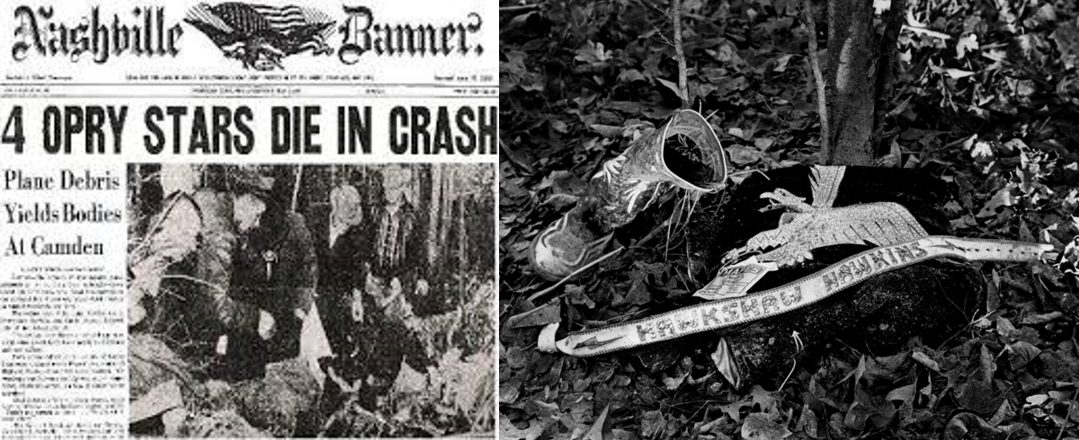 Patsy Cline Plane Crash Body On the evening of Marc...