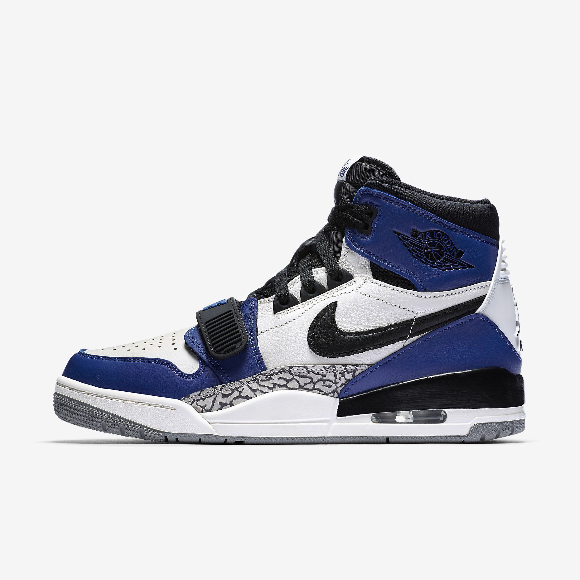 "ffbe3ec0e934bb Official Photos of the Jordan Legacy 312 ""Storm Blue"" sneakerbardetroit .com air-jordan-leg…"