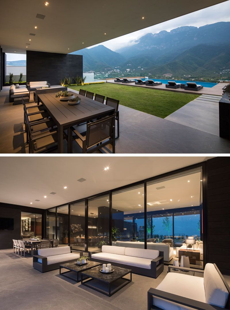Glr arquitectos have designed the er house to take advantage of the