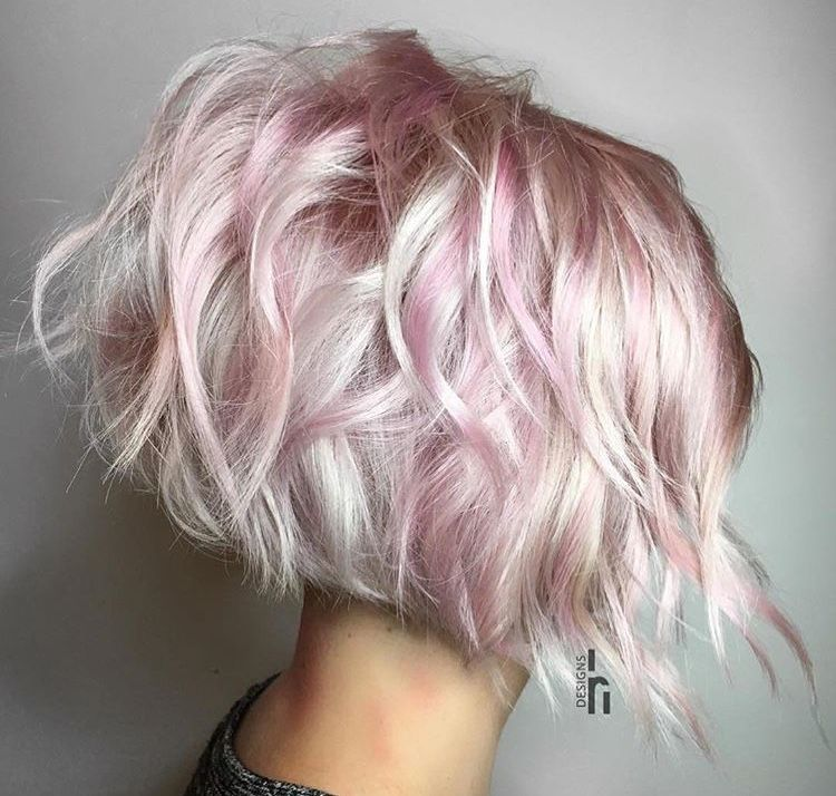 Pin By Jcar On Hairspiration In 2020 Pink Blonde Hair Short Platinum Blonde Hair Silver Blonde Hair