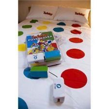 Twister Duvet Set The That Ties You Up In Knots On Cover