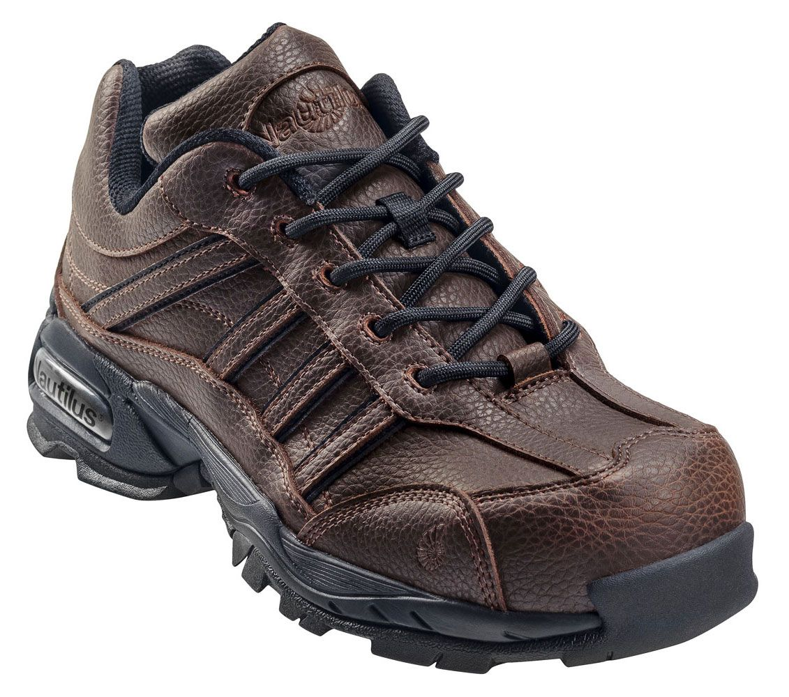 N1670 Nautilus Men's Steel Toe ESD Safety Shoes - Brown