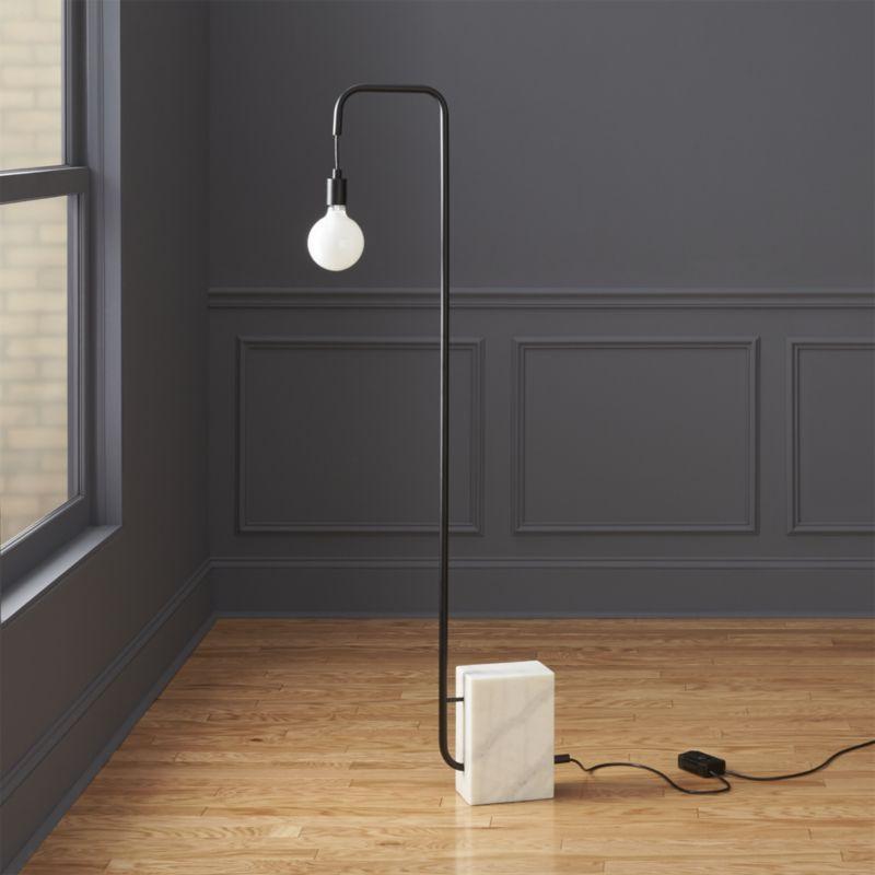 Marble Floor Lamp Reviews Cb2 Modern Floor Lamps Floor Lamp Bedroom Floor Lamp