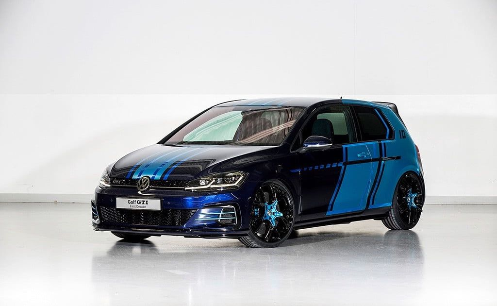 bit.ly/2oskBis You've never seen a Volkswagen GTI like this hybrid show car
