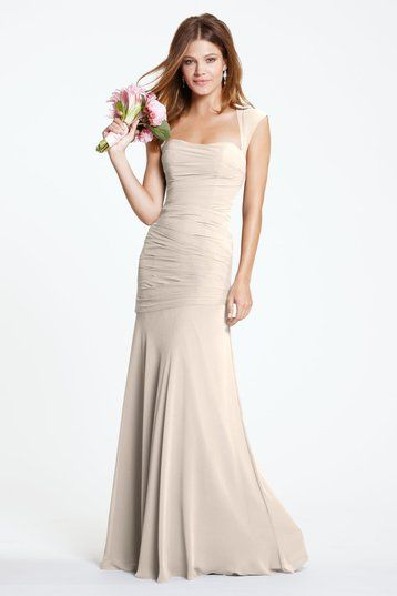 Champagne & Neutral Colored Bridesmaid Dresses | Weddington Way