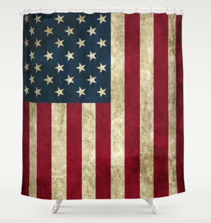 Show Your Love For America With This Stars And Stripes Shower