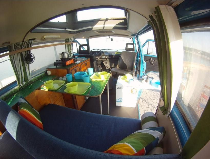 Love What They Did With The Inside VW Bus Camper Interior