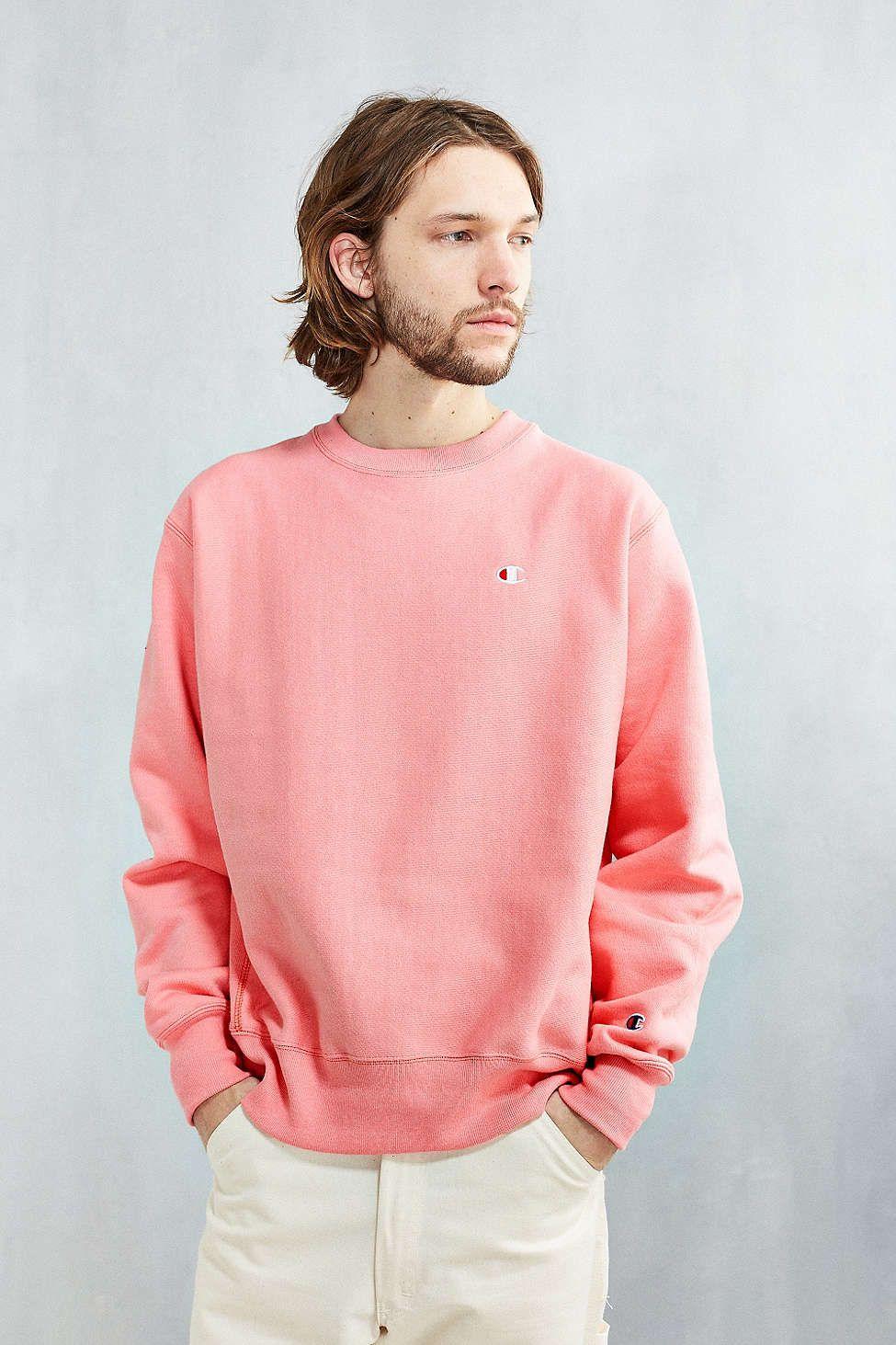 Champion Reverse Weave Crew Neck Sweatshirt | Mode, Homme, Leila