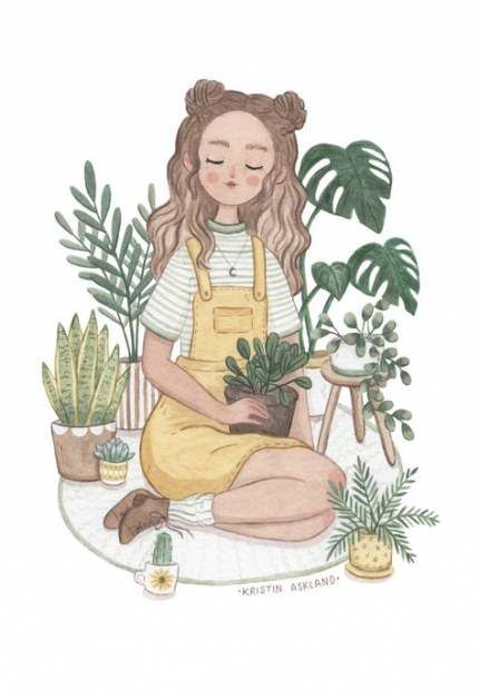 Best plants drawing reference ideas -   12 plants Drawing tumblr ideas