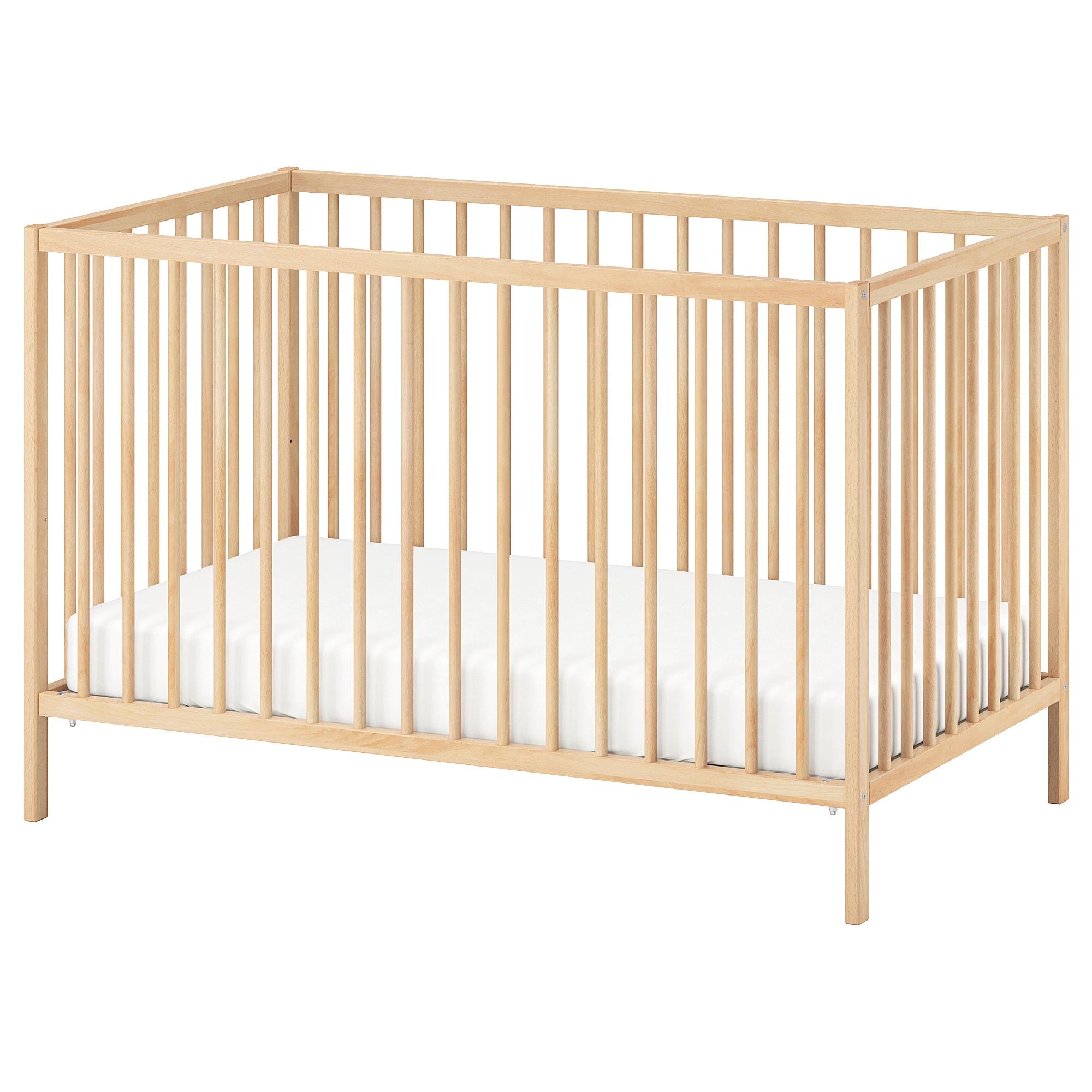 Sniglar Crib Beech 27 1 2x52 Ikea Baby Ikea Crib Ikea Baby