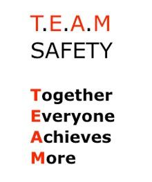 Team Safety | OSHA Meetings | Construction safety, Office