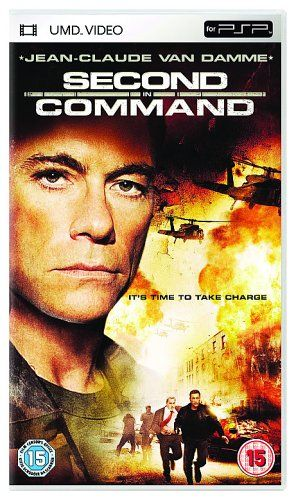 Second In Command Umd Mini For Psp Sony Pictures Http Www Amazon Co Uk Dp B000esstag Ref Cm Sw R Pi Dp Xs9qwb1t6gcqq Claude Van Damme Filmposter Filme