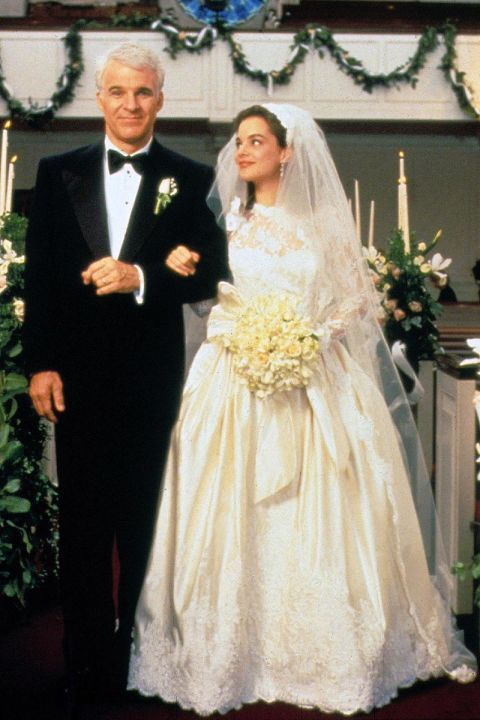 In Photos: 32 Iconic Movie Wedding Gowns | Kimberly williams ...
