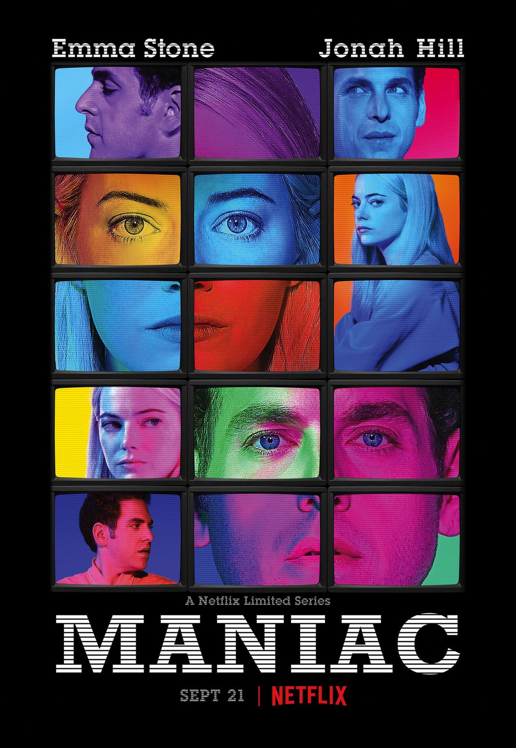Return to the main poster page for Maniac Film, Séries