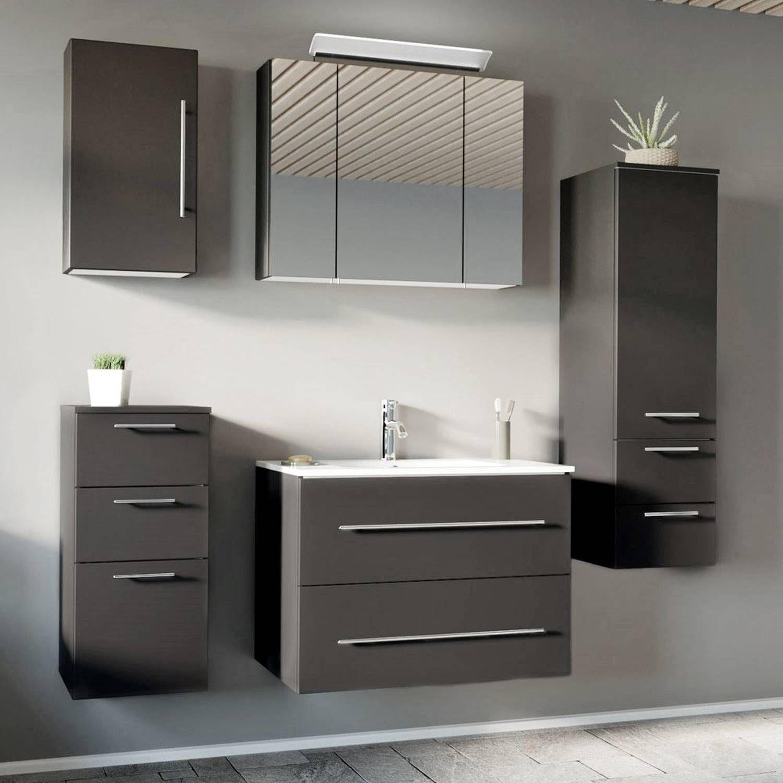 Spiegelschrank Badezimmer 100cm Spiegelschrank Bad Gunstig Kaufen Komplettset Badmobel Badschrank Schmal 25 Cm Spiegelschrank Bad Waschtisch Seidenglanz