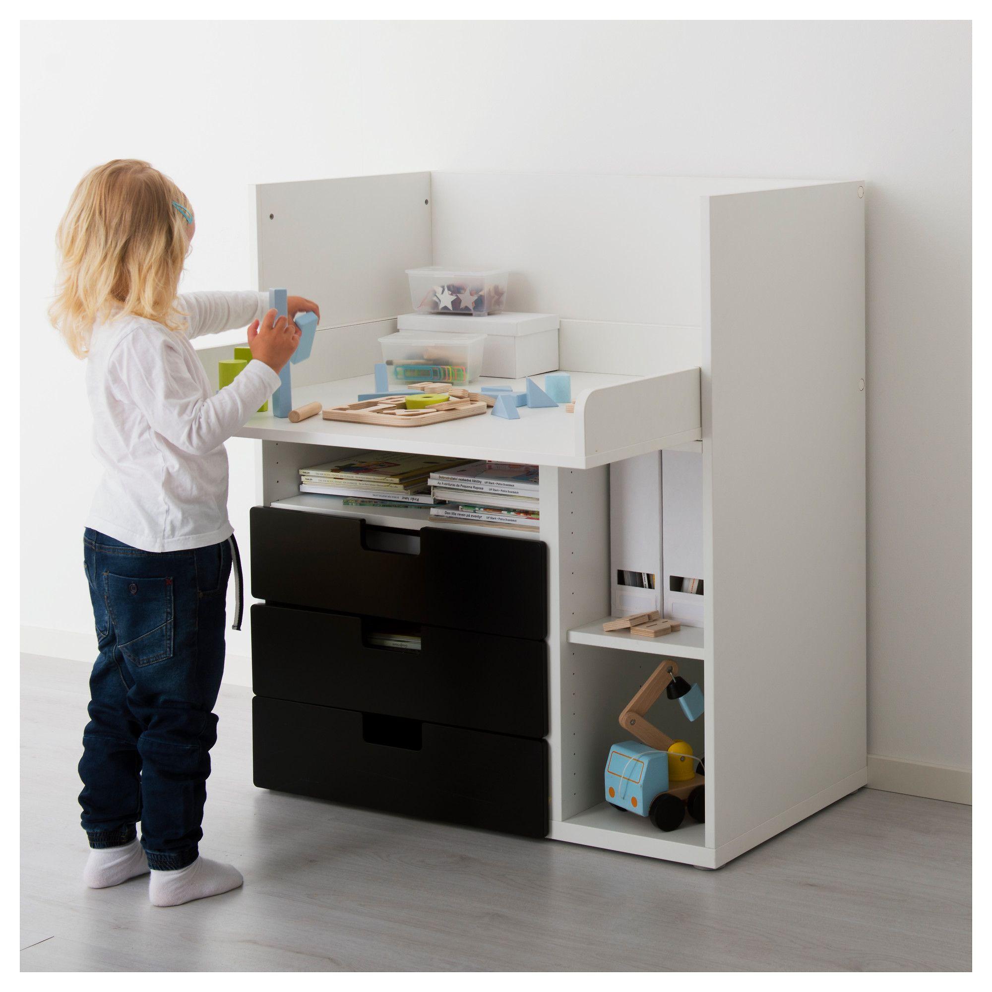 Ikea Stuva Desk With 3 Drawers