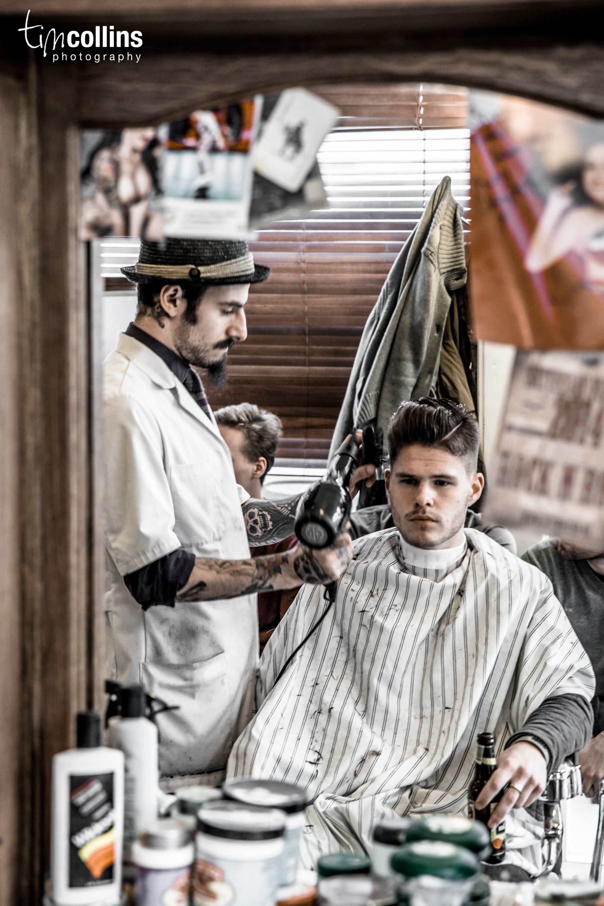 Schorem Barber Shop - Rotterdam by Tim Collins Photography