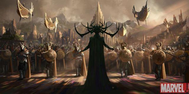 Thor: Ragnarok Concept Art Offers First Look At Hela