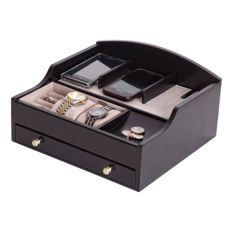 Ricardo Men S Dresser Top Valet Organizer And Charging Station By Mele Co Is Perfect
