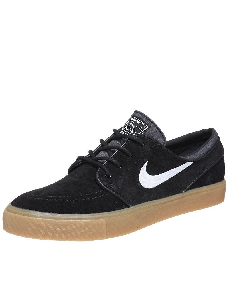 Nike Sb Janoski Shoes Black Gum White Janoski Shoes Nike Free Shoes Fashion Shoes