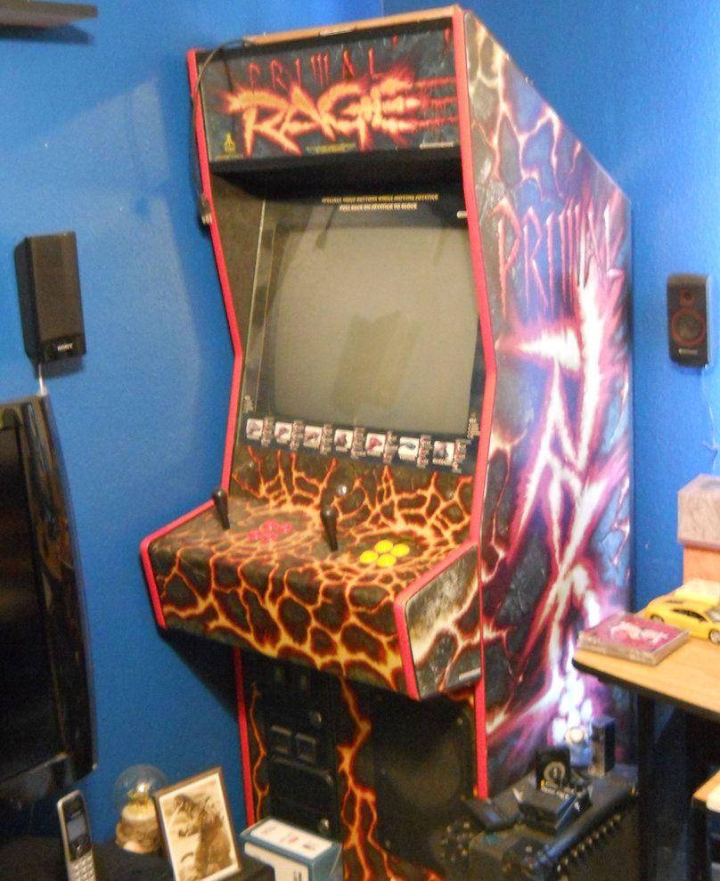 Primal Rage Arcade Machine by Malidicus on deviantART | Primal ...